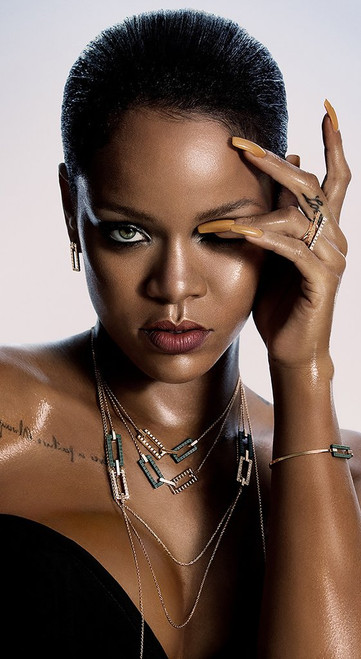 Rihanna portrait.