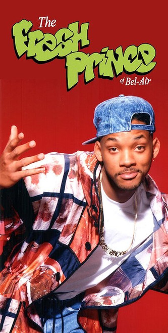 Will Smith as the Fresh Prince.