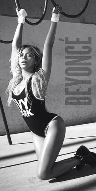 Beyonce in leotard.