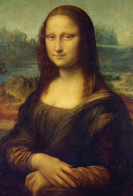 Mona Lisa Poster.
