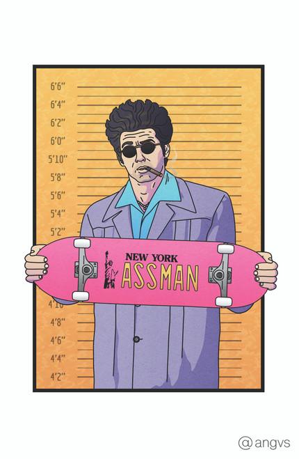 Angvus Assman Poster Invasion Print.