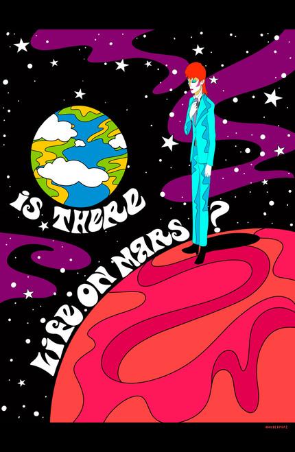 auderpopz Life on Mars Poster Invasion Print.
