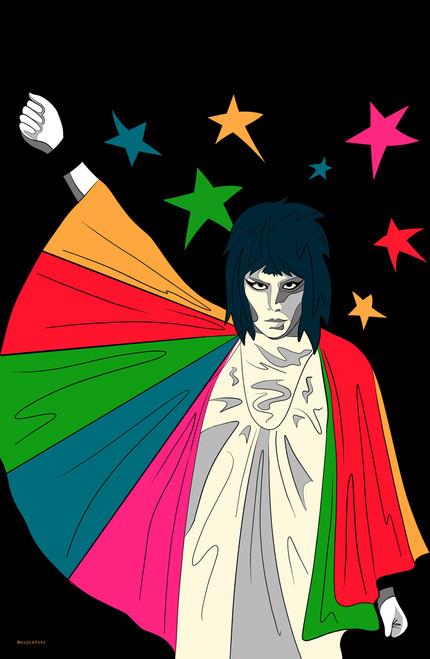 auderpopz Freddie Poster Invasion Print.