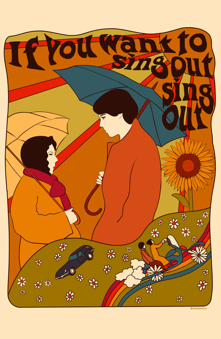 auderpopz Harold & Maude Poster Invasion Print.
