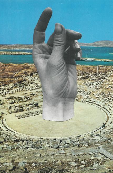 heavyhymns Coliseum Hand Poster Invasion Print.