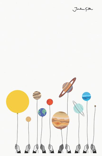 jordan.guth.art Solar Poster Invasion Print.