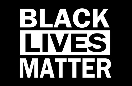 Black Lives Matter Poster.