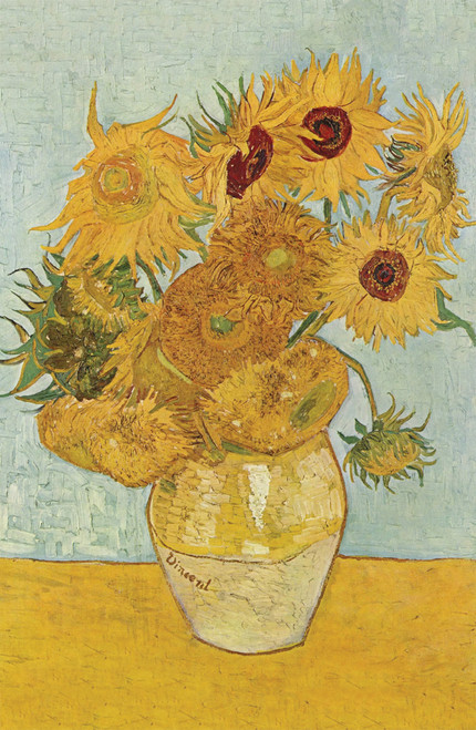 Sunflowers by Van Gogh.
