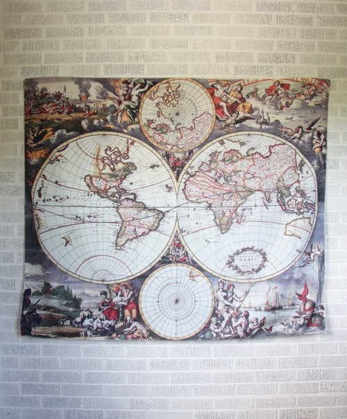 Magna Carta Mundi Map Tapestry