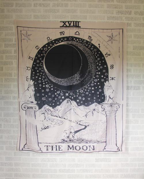 Moon Tarot Tapestry.