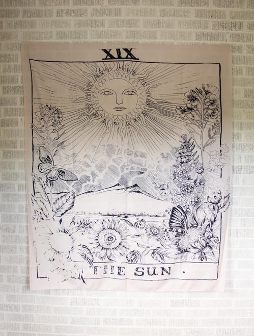 Sun Tarot Tapestry.