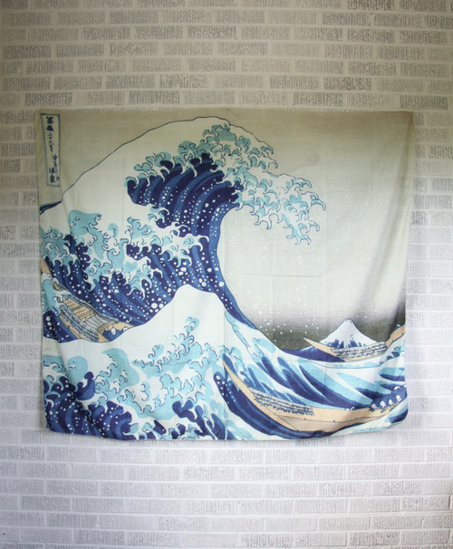 Great Wave Tapestry.