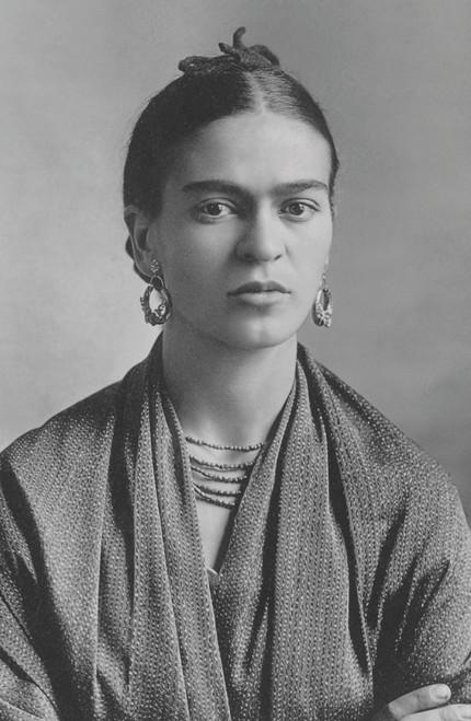 Frida Kahlo by Guillermo Kahlo.
