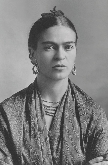 Frida Kahlo by Guillermo Kahlo.