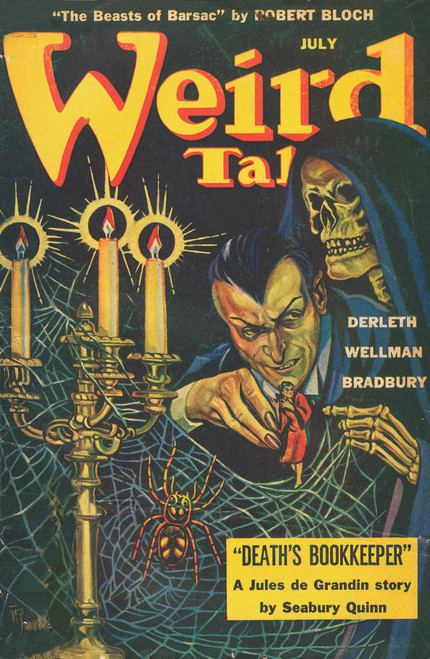 Weird Tales July 1944 Poster.