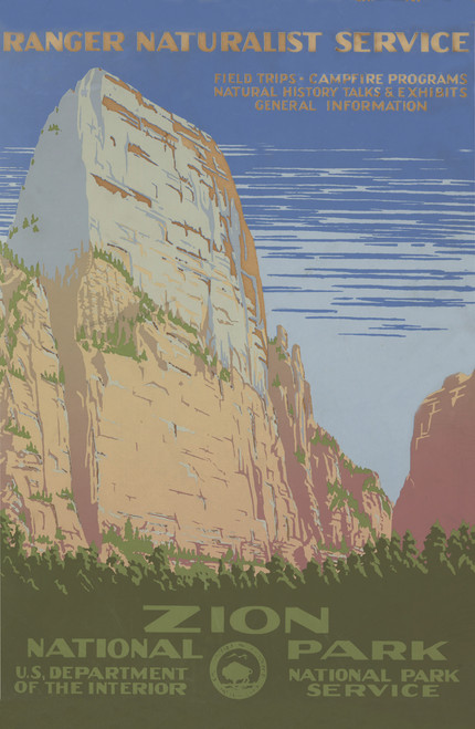 Zion NPS Poster.