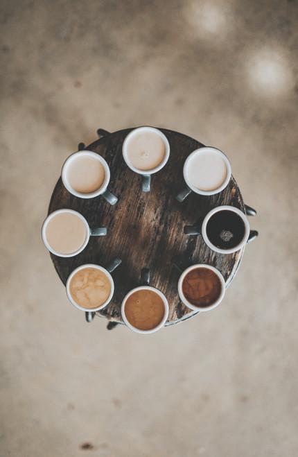 Coffee Circle Poster.