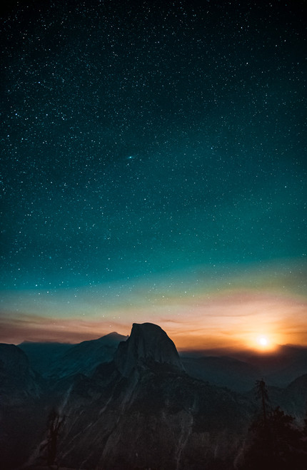 Starry Sunrise.