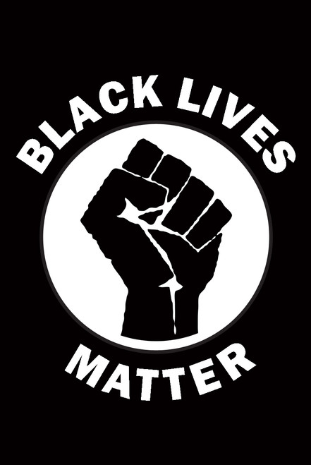 Black Lives Matter Fist.