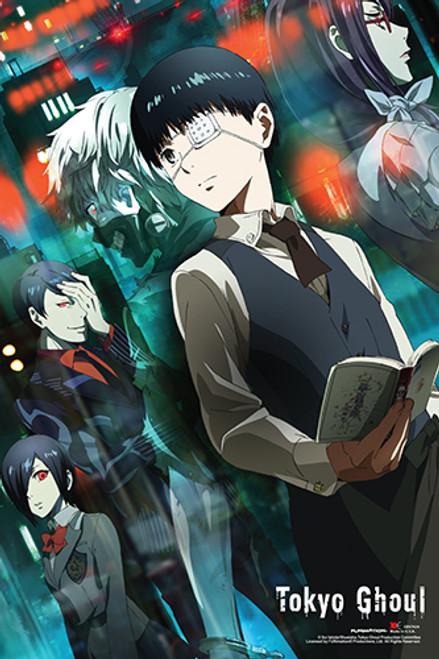 Tokyo Ghoul Kaneki and Friends Poster.