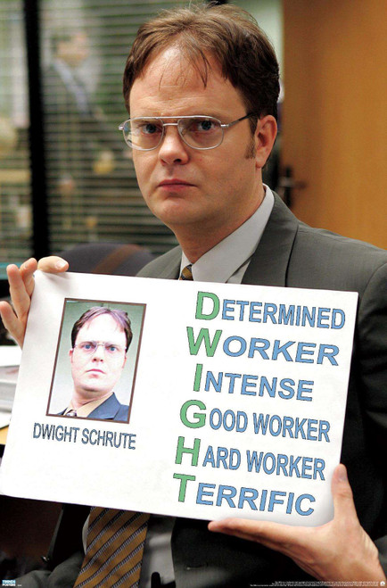 The Office Dwight Poster.