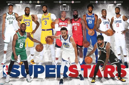 NBA Super Stars Poster.