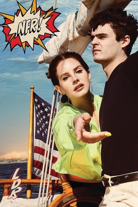 Lana Del Rey Norman Ducking Rockwell