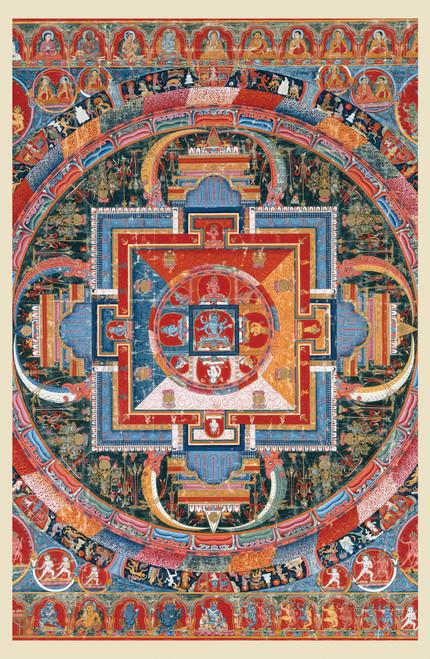 Mandala of Jnandakini.