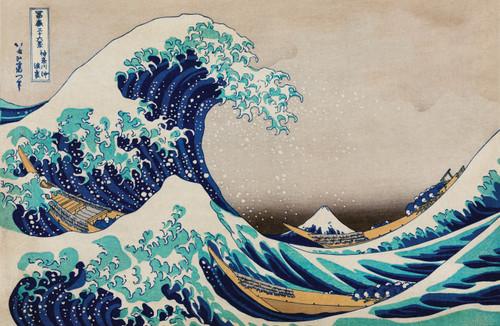 The Great Wave off Kanagawa.