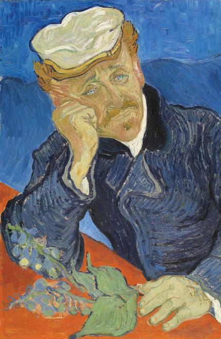 Dr Paul Gachet by Vincent van Gogh.