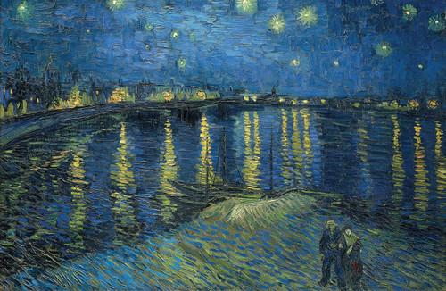 Van Gogh Starry Night Over the Rhone