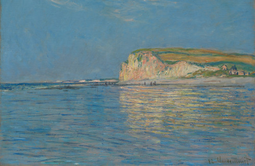 Low Tide at Pourville by Claude Monet.