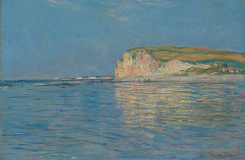 Low Tide at Pourville by Claude Monet.