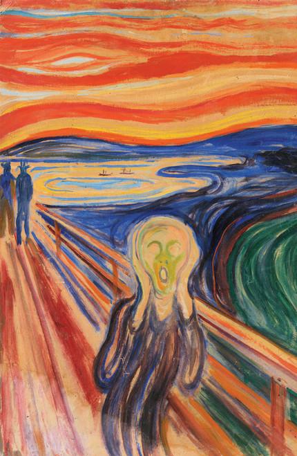 Edvard Munch The Scream 1893.