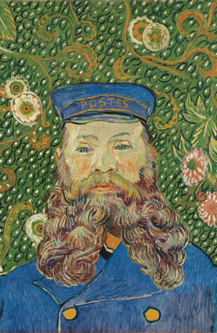 Van Gogh Portrait of Joseph Roulin.