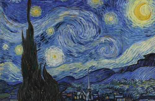 Van Gogh Starry Night 1889.
