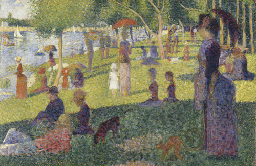 A Sunday Afternoon on the Island of La Grande Jatte by George Seurat.