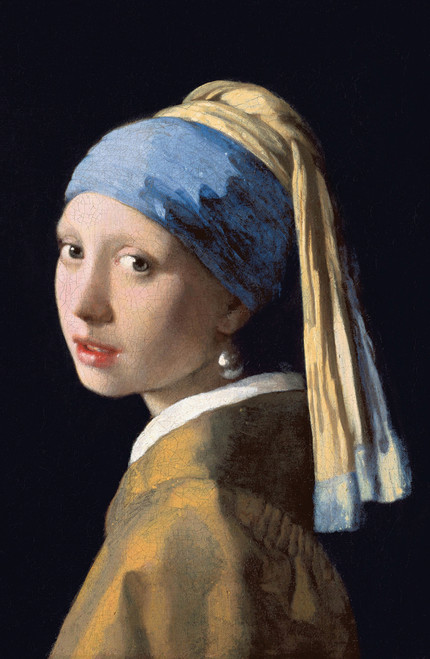 Johannes Vermeer Girl with a Pearl Earring 1665.