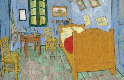 The Bedroom Van Gogh 1889.