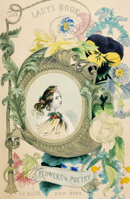 The Lady's Book of Flowers and Poetry 1846.