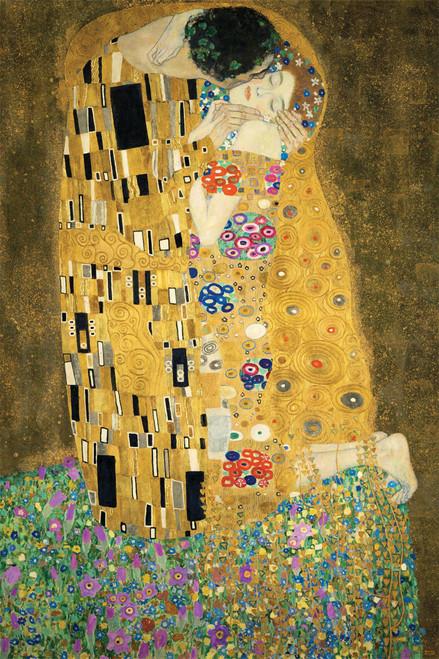 Gustav Klimt's The Kiss.