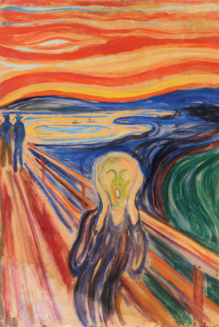 Edvard Munch's The Scream.