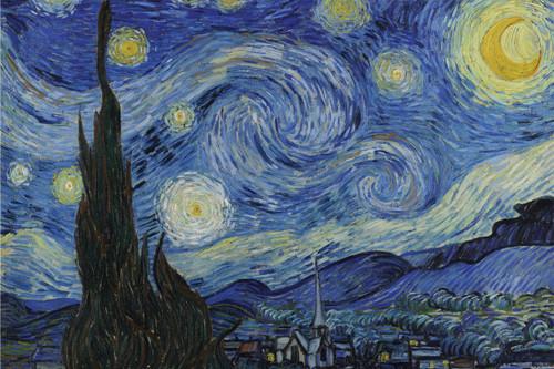 Starry Night by Van Gogh.