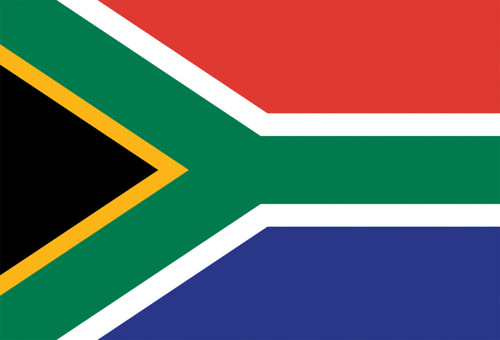 South African Flag postcard.
