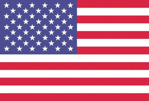 American Flag Postcard.