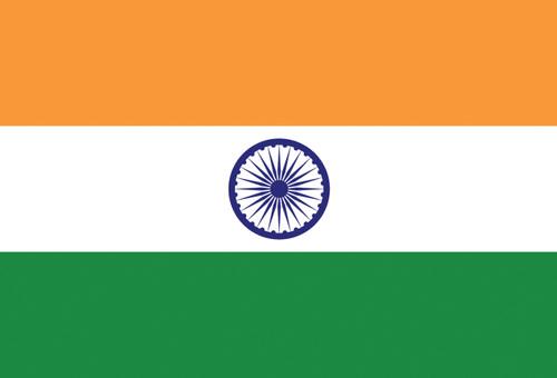 Flag of India Postcard.