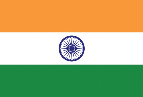 Flag of India Postcard.