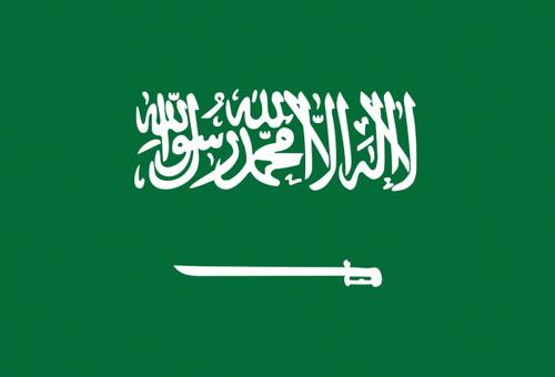 Flag of Saudi Arabia Flag Postcard.