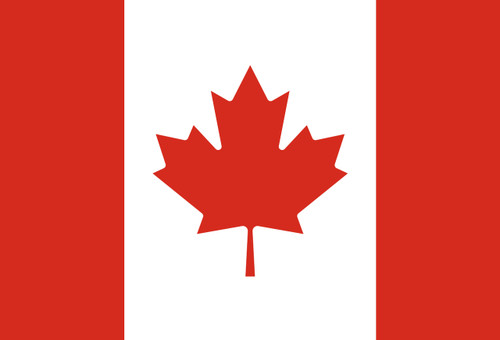 Flag of Canada Postcard.