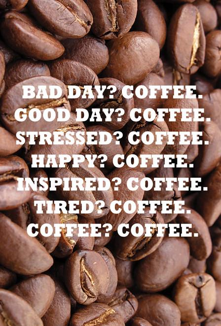 Coffee Postcard.